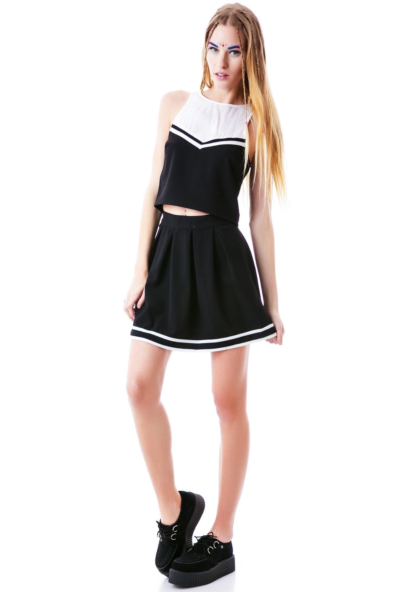 Mink Pink Cheerleader Top