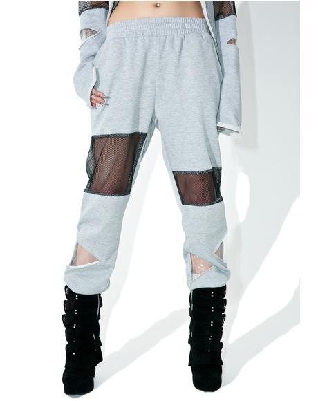 Bayside High Paneled Sweatpants