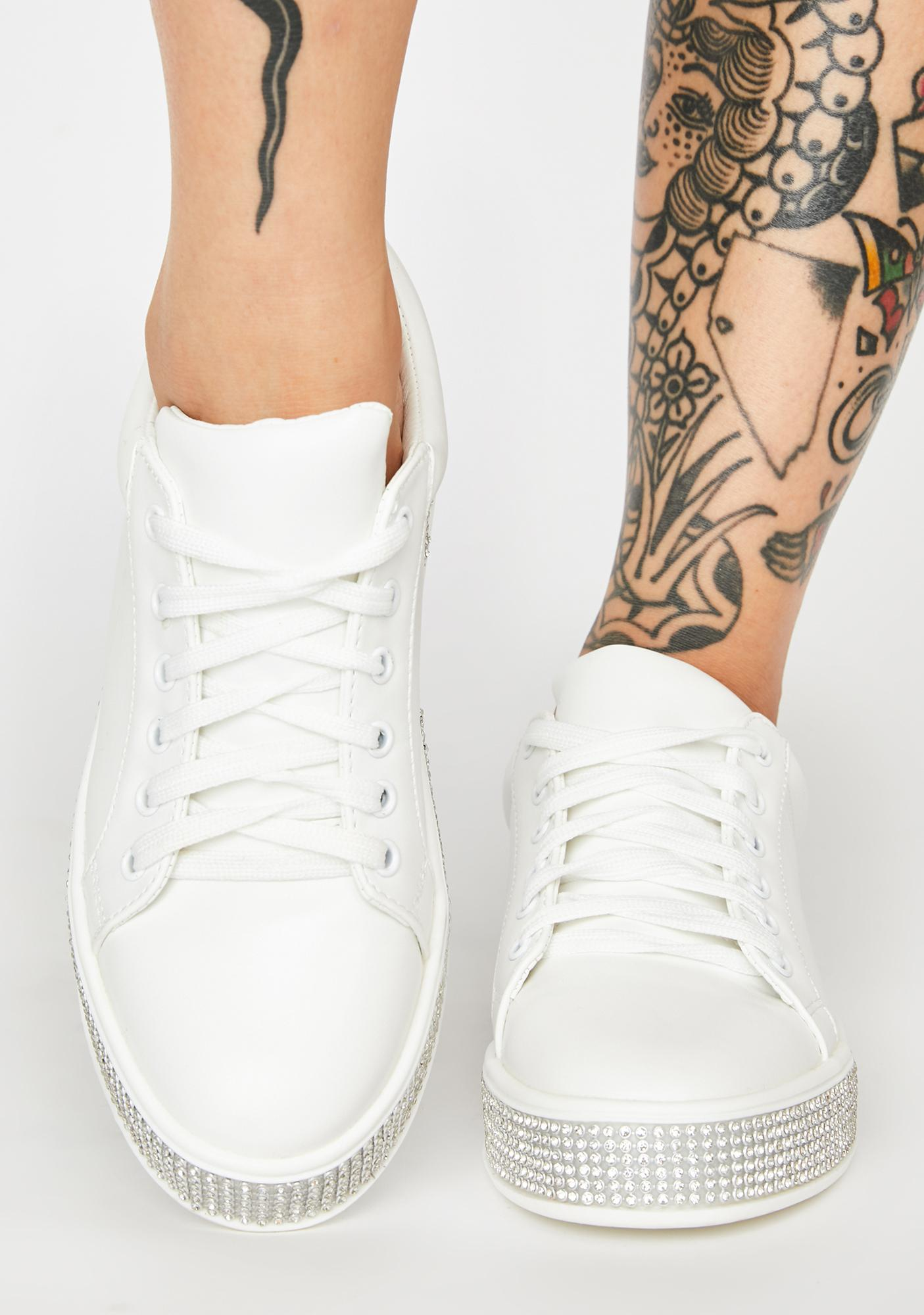 On The Roxxx Rhinestone Sneakers