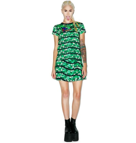 Illustrated People Snake Wrap Ailsa Tee