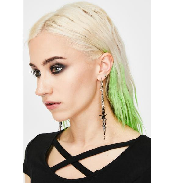 Lawless Desires Chain Drop Earrings