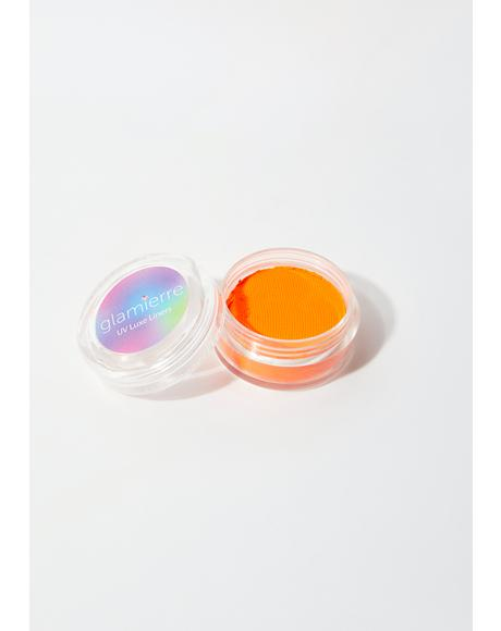 Orange Splash Neon UV Luxe Liner