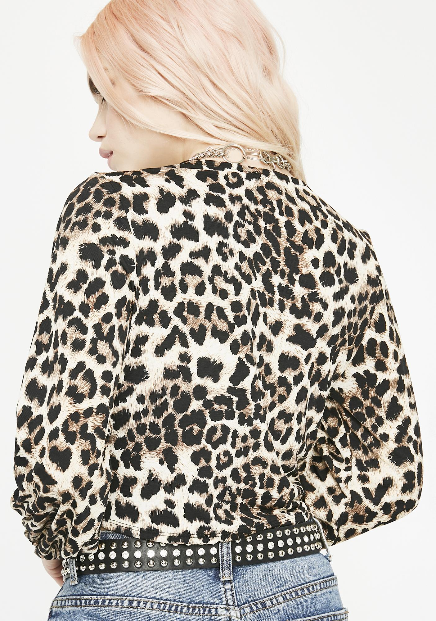 Thrill Seeker Leopard Top