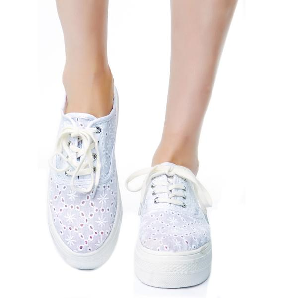 Daisy Redhook Platform Sneakers