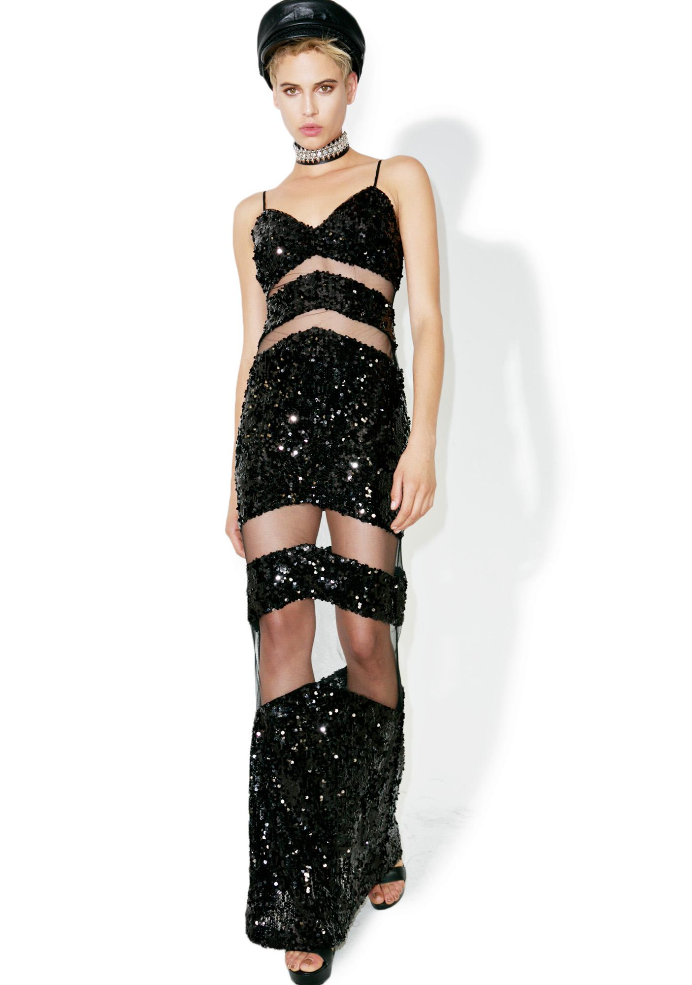 Heat Wave Sequin Maxi Dress