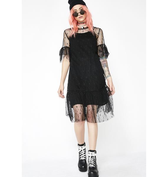 Oh She Cute Lace Dress