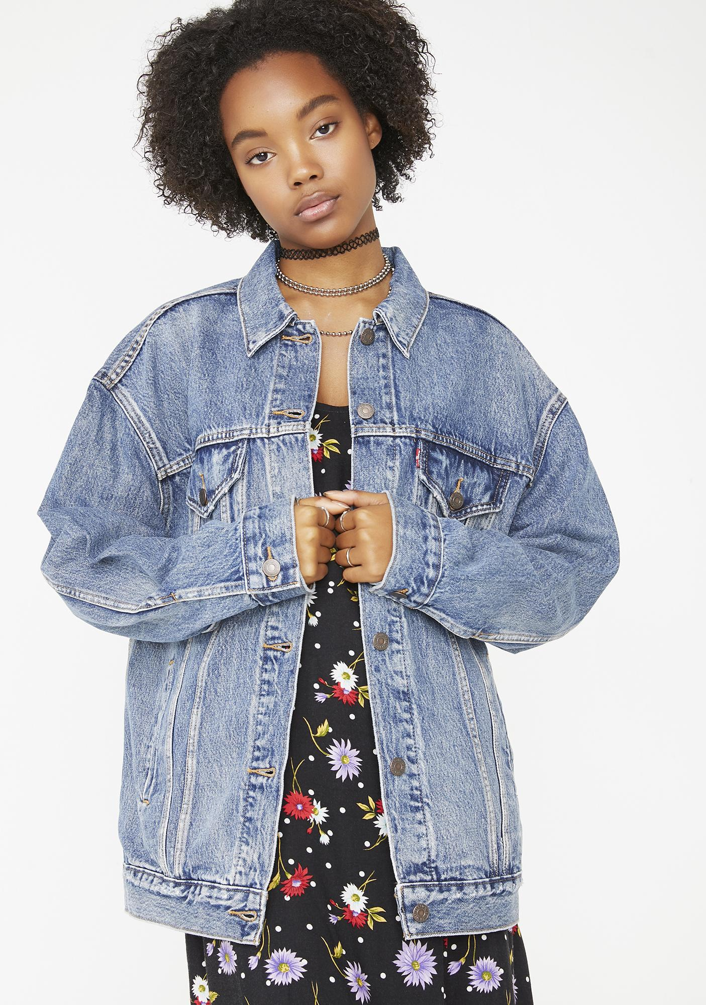 Levis Baggy Trucker Jacket