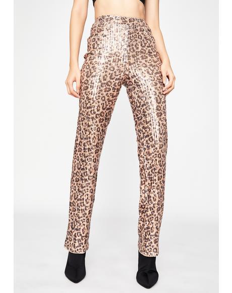 Haute N' Ruthless Leopard Pants