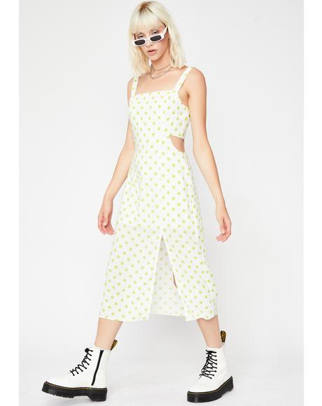 Brunch Date Polka Dot Dress