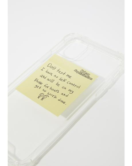 Post-It iPhone Case