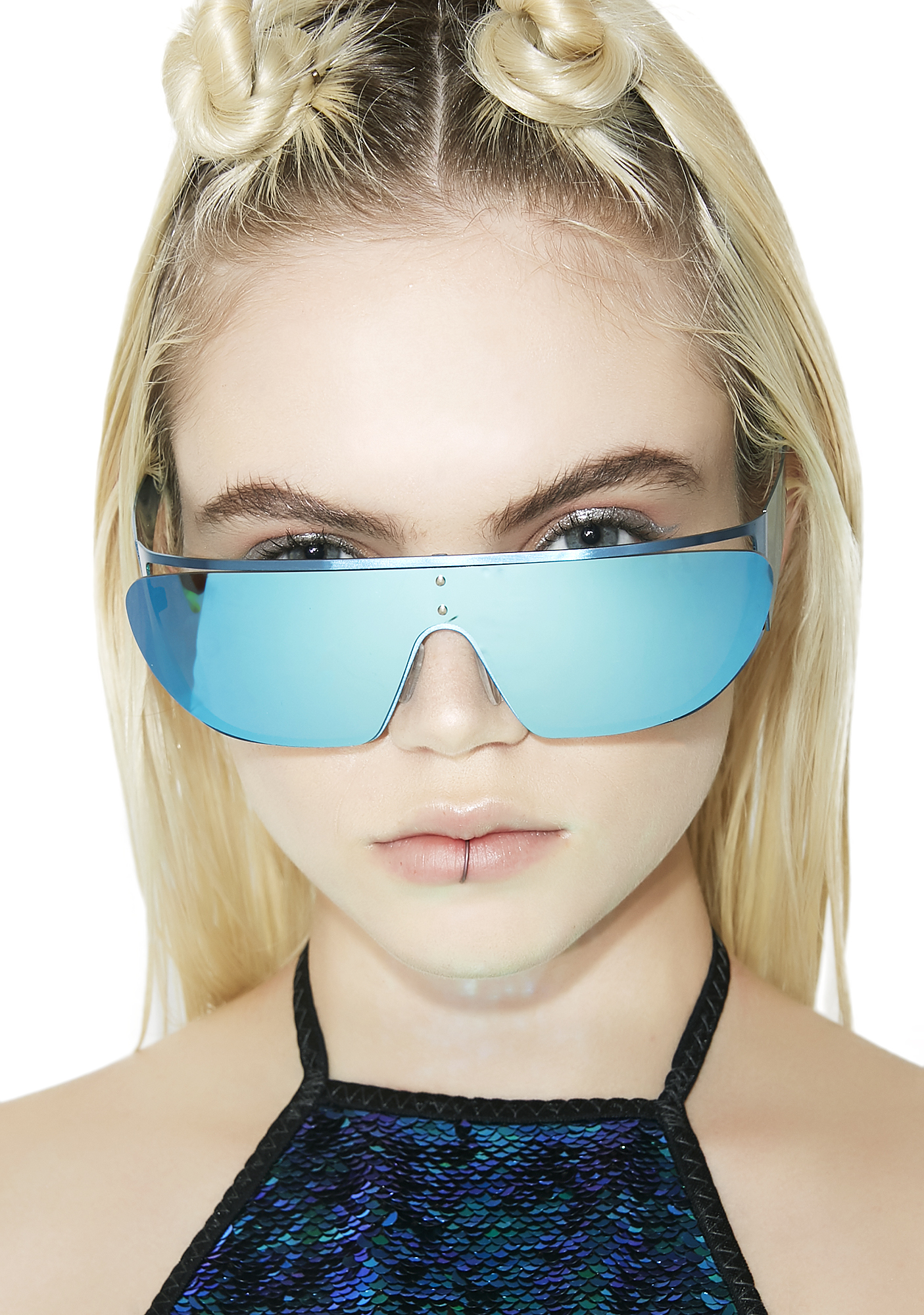 Rad and Refined Blue Moon Terminator Sunglasses