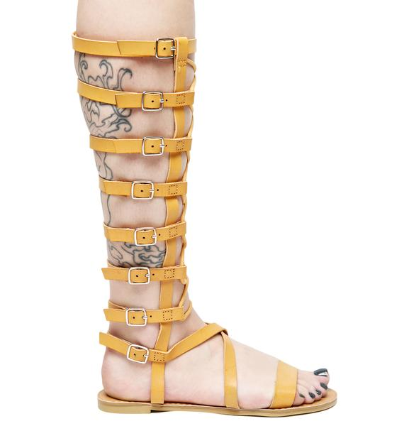 Athena Gladiator Sandals