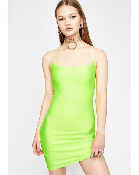 Circuit Cascade Bodycon Dress