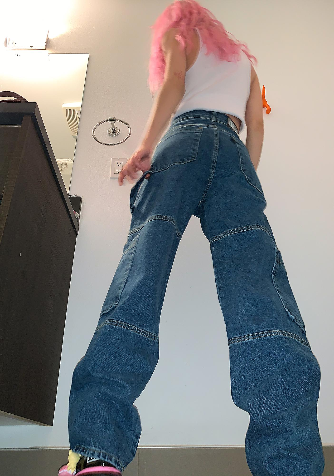 The Ragged Priest Combat Wide Leg Jeans