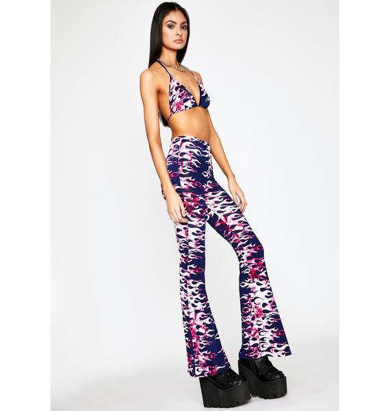 Mermaid Blazing Rebel Pant Set