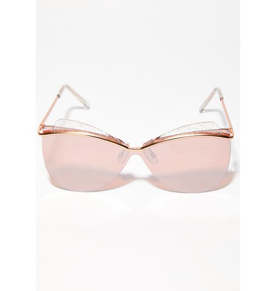 Quick Fix Oversized Sunglasses
