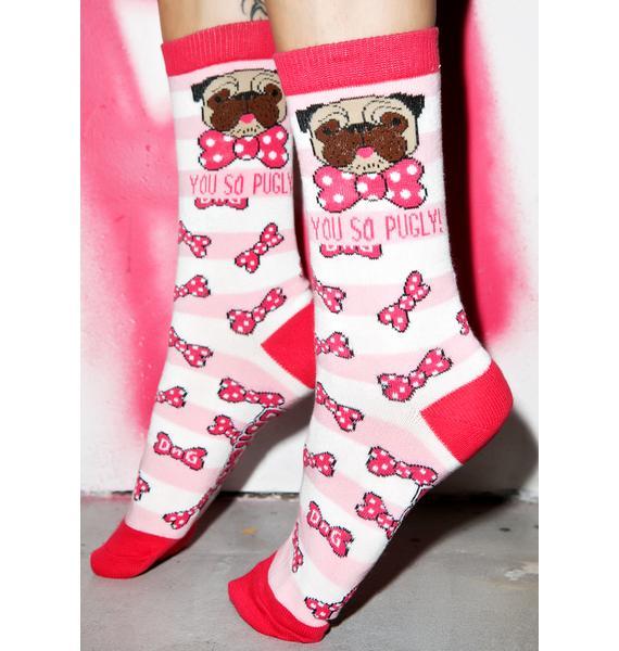 Pugly Socks