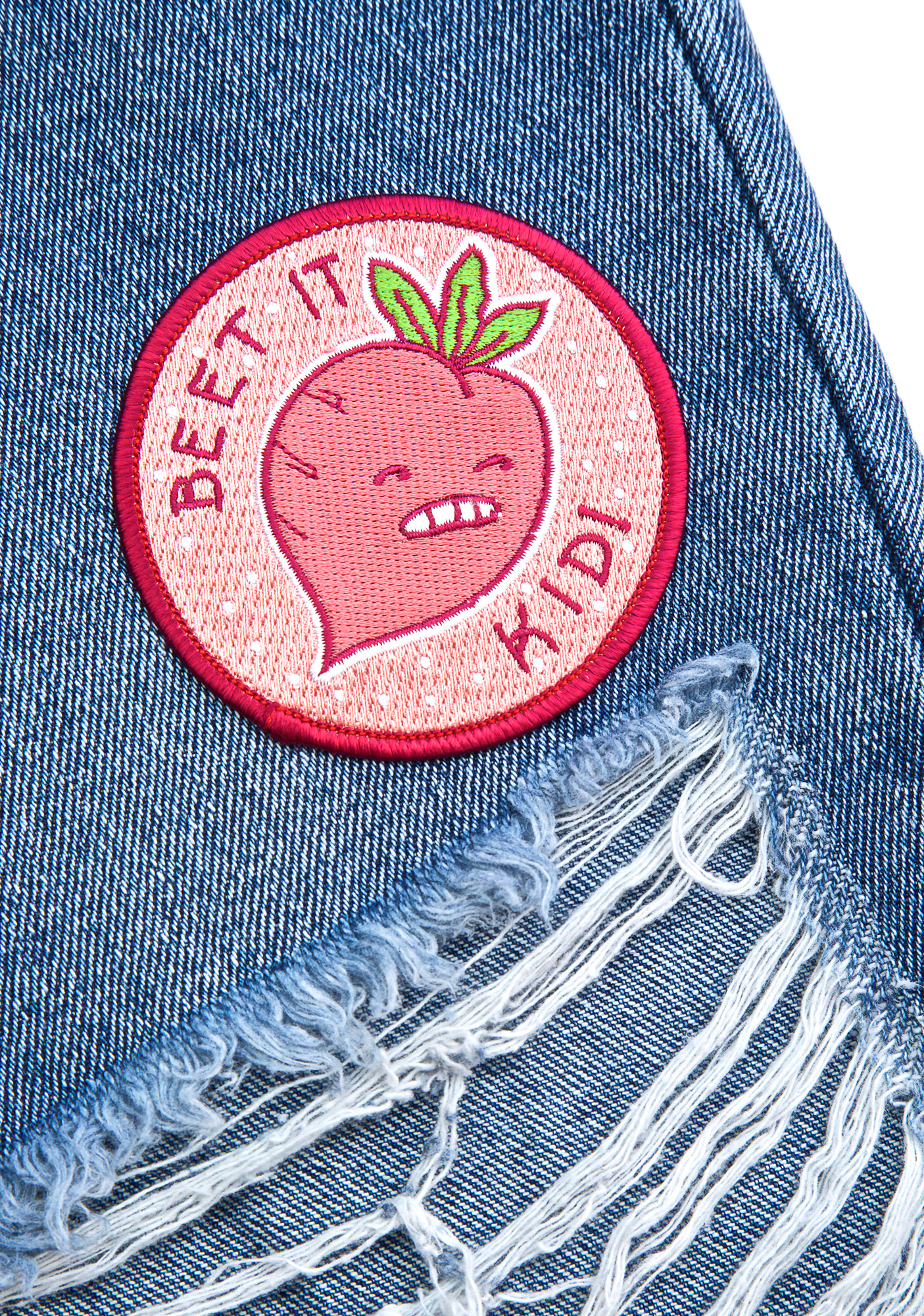 Valley Cruise Press Beet It Kid Iron-On Patch