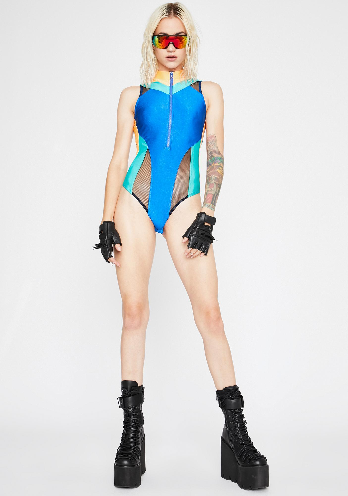 Sonic Bass Colorblock Bodysuit