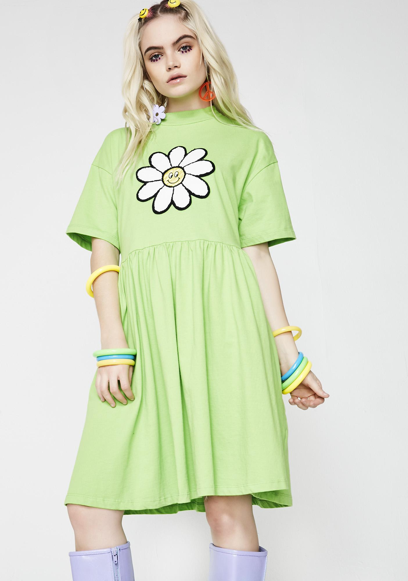 Lazy Oaf Giant Daisy Dress