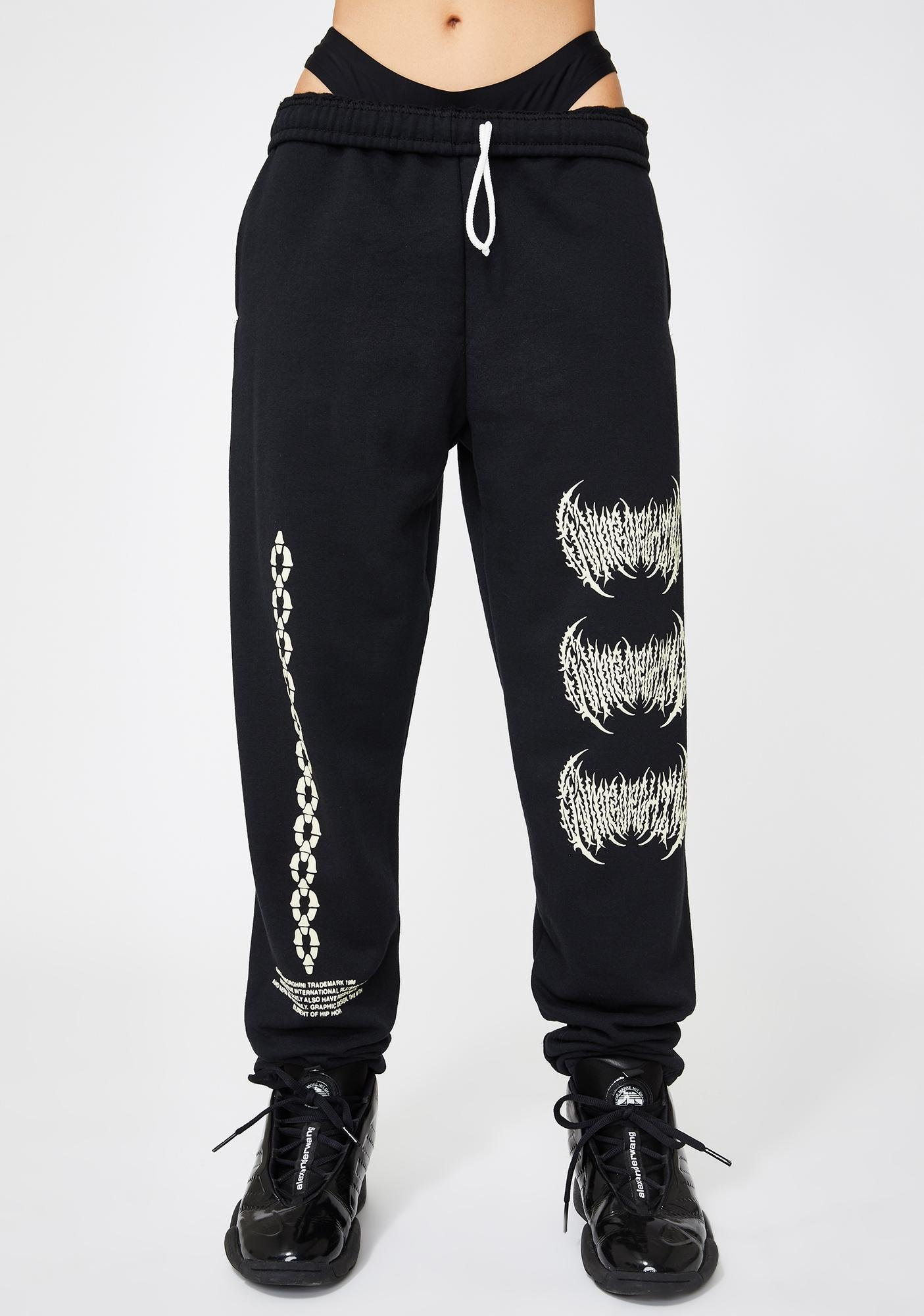 Samborghini Metal Logo Sweatpants