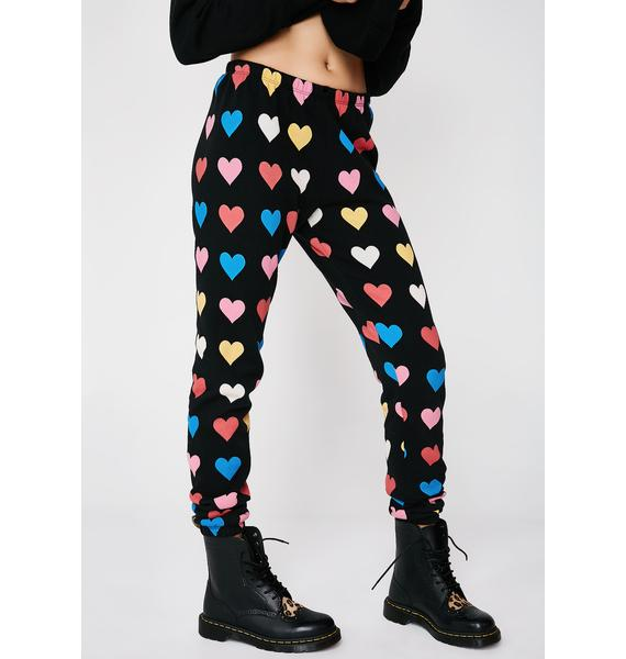 Wildfox Couture Have A Heart Knox Pants