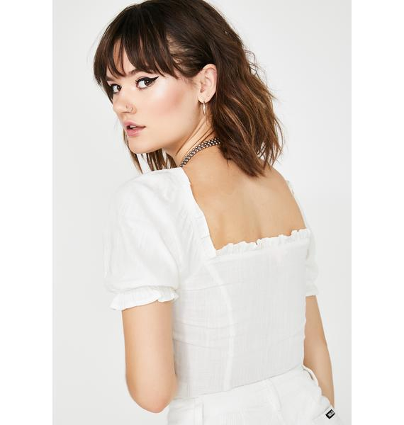Innocent New Luc Lace Up Top