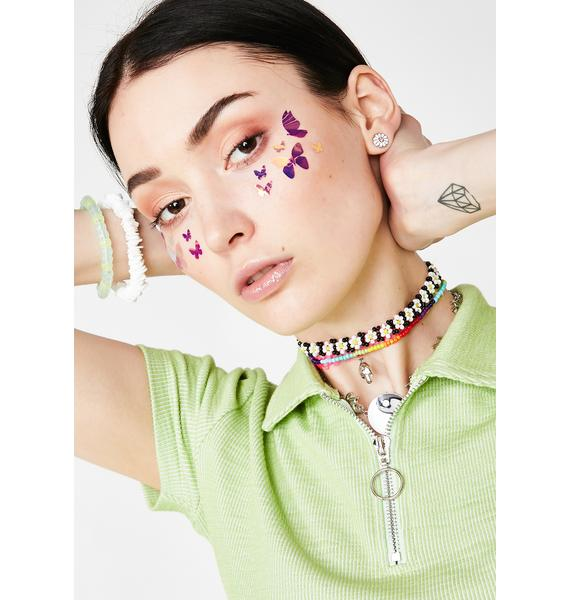Stinnys Butterfly Body N' Face Stickers