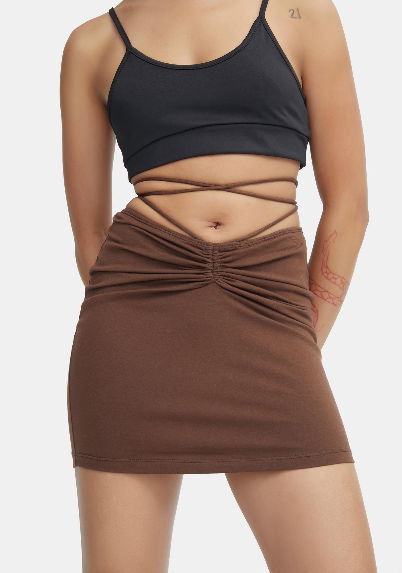 Motel Cocoa Ejon Mini Skirt