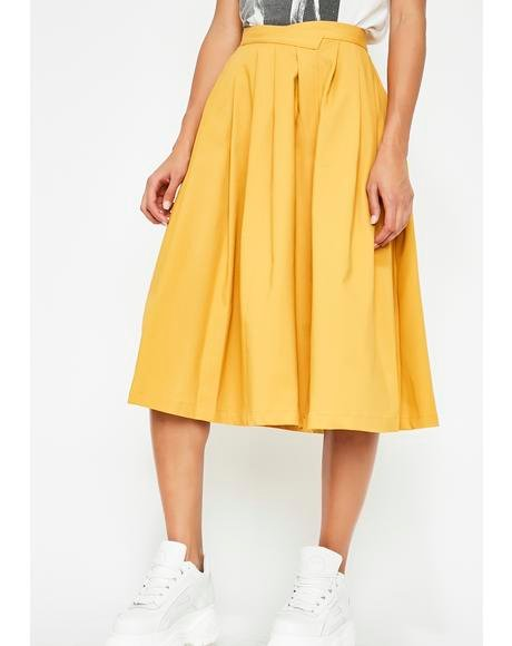 Spotlight Kid Pleated Skirt