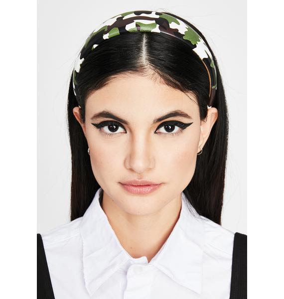 Ready Position Camo Headband