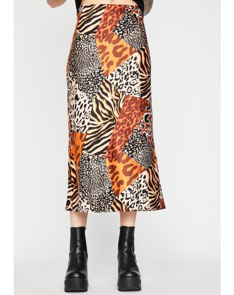 Wild Days Midi Skirt