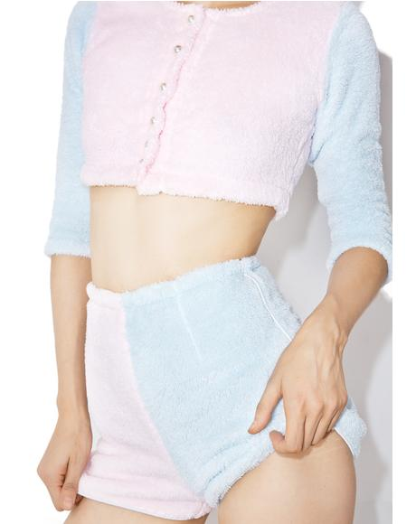 Candy Fluff Suit Shorts