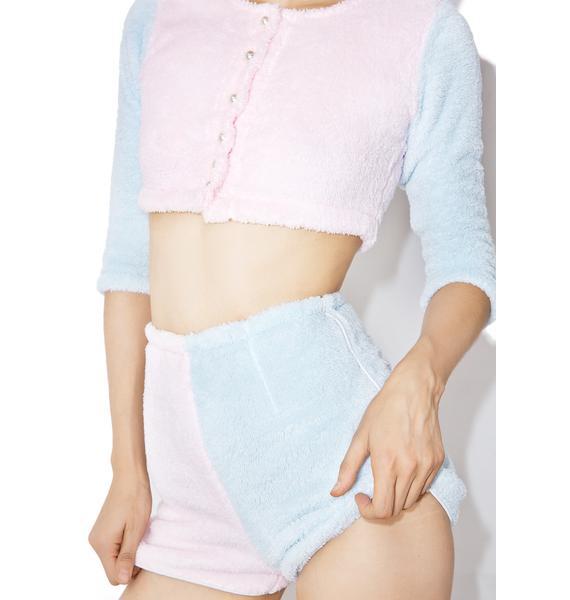 Melonhopper Candy Fluff Suit Shorts