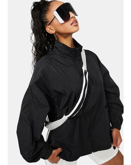Night Sky High Bomber Jacket & Fanny Pack Set