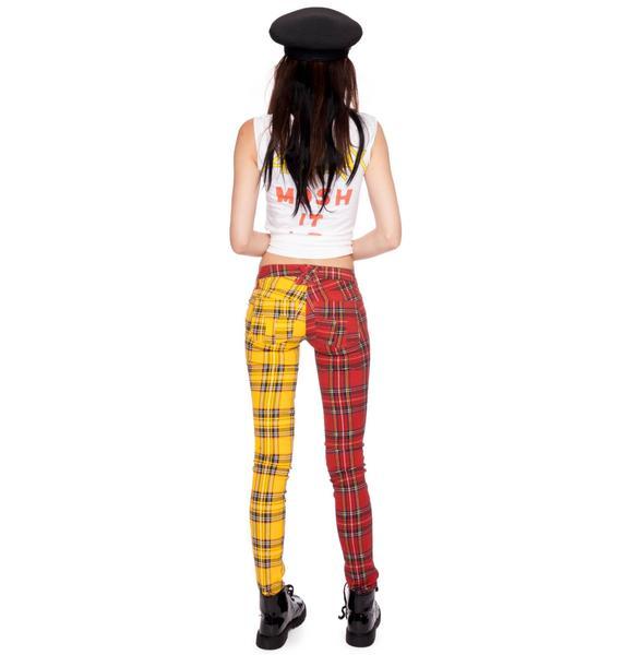 Tripp NYC Split Jeans