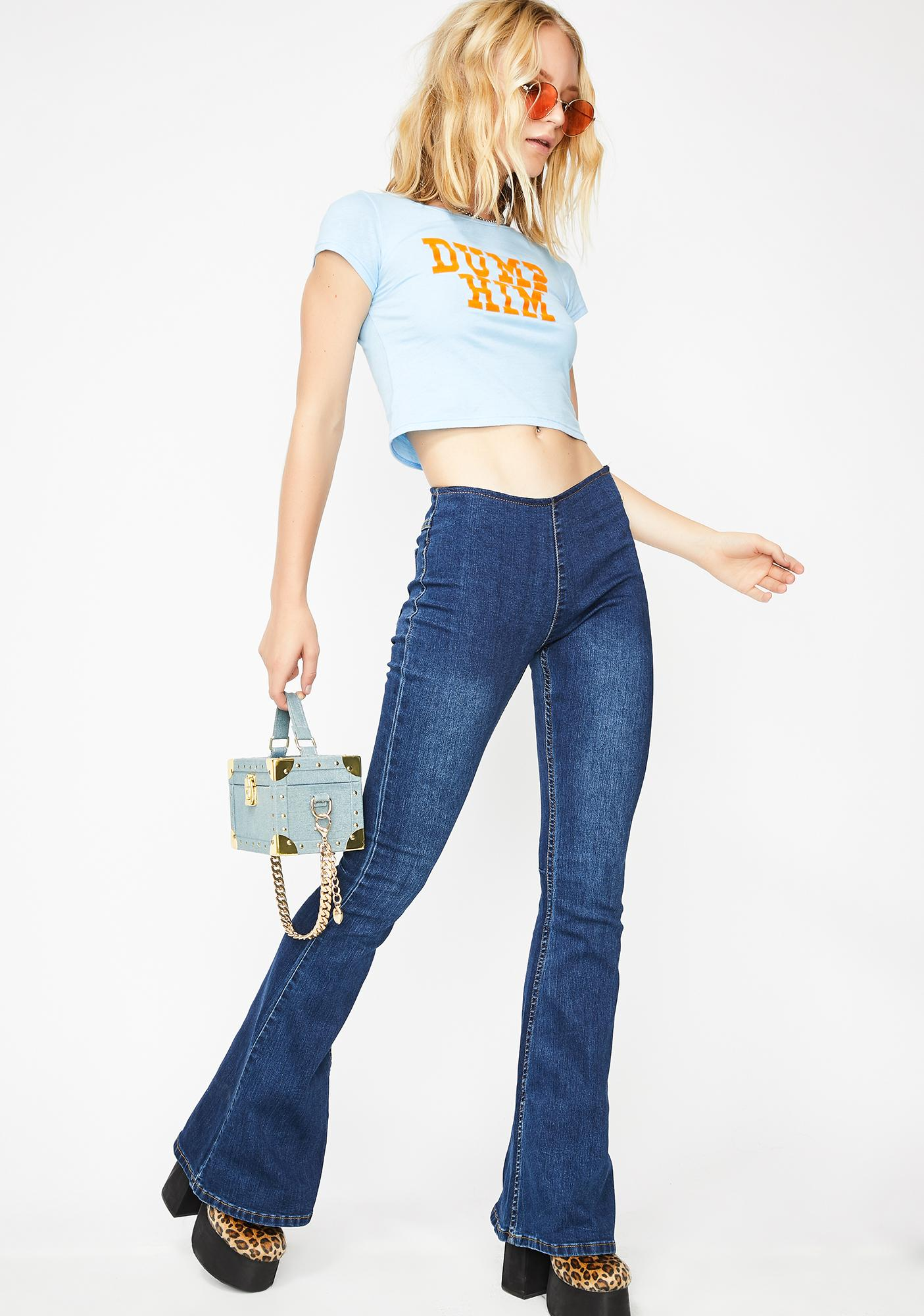 Royal American All Star Flared Jeans