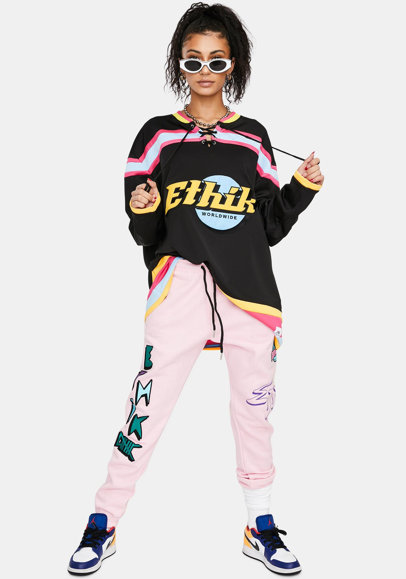 ETHIK Black Mavericks Hockey Jersey