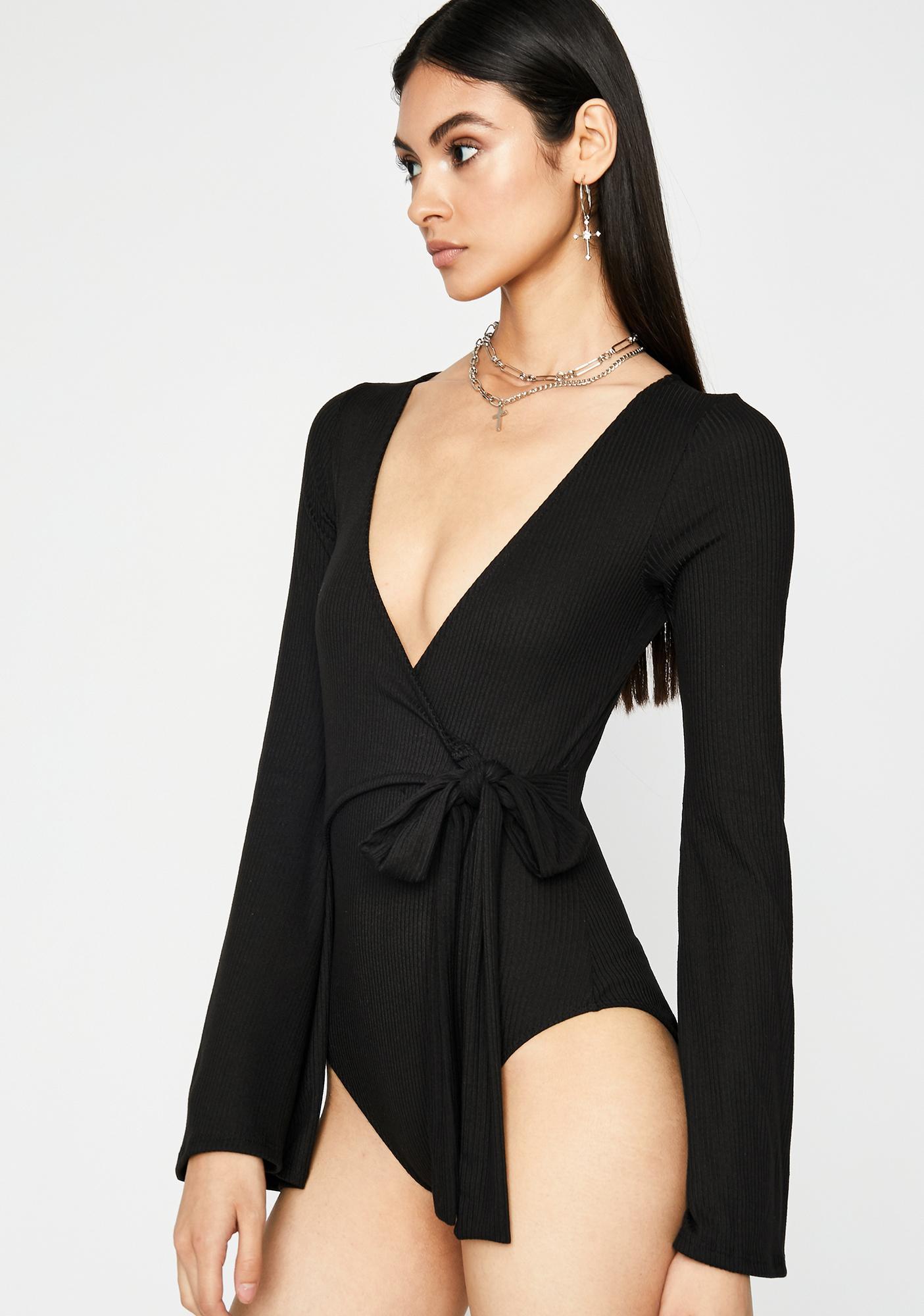 Make It Good Wrap Bodysuit