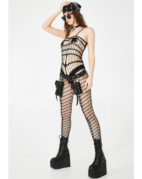 Desert Baddie Cut-Out Bodystocking