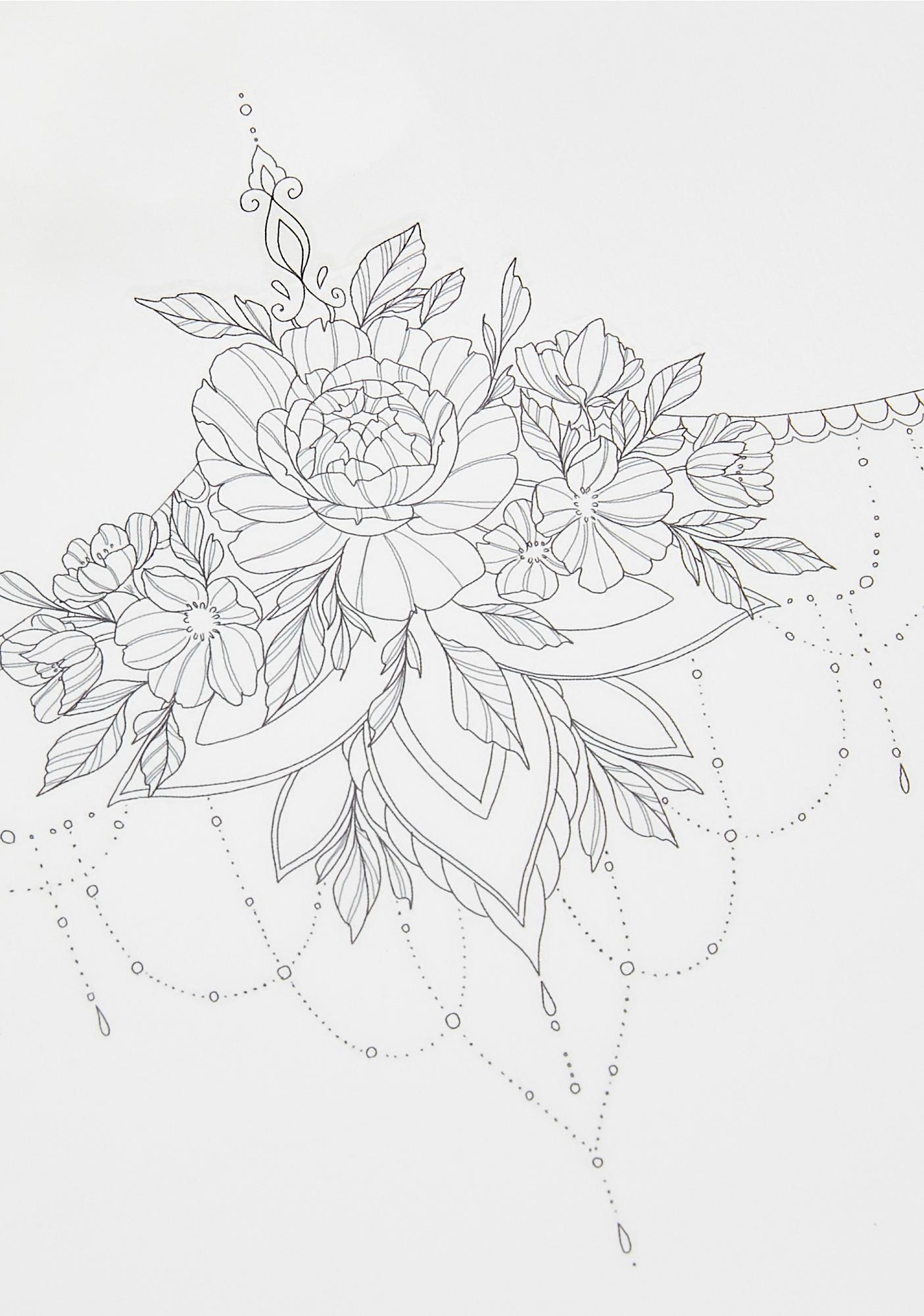 SHRINE x Sophie Rimmer Body Tattoo