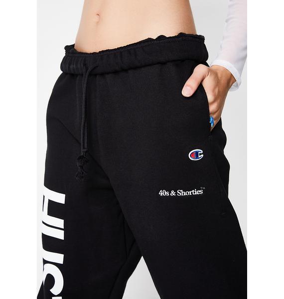 40s & Shorties Hustler Logo Sweats