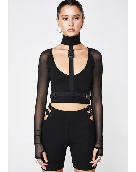 Sass Kween Harness Top