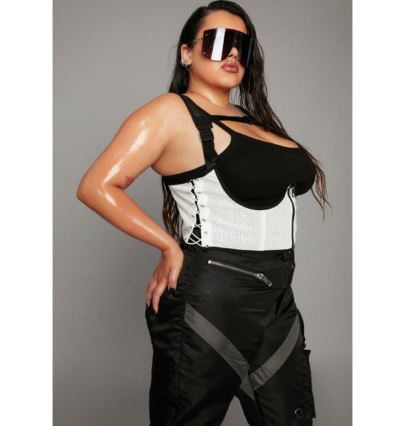 Poster Grl Obviously I'm Winning Underbust Corset