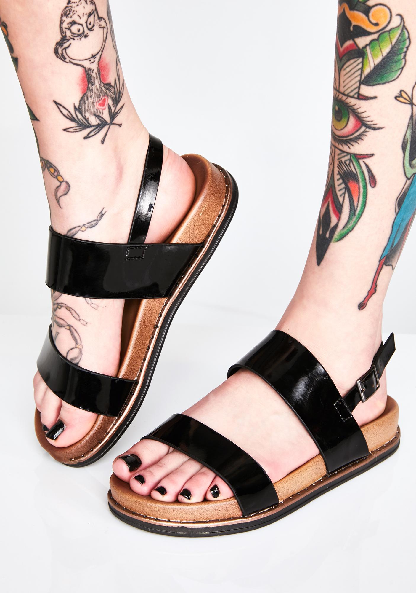 95e350a133c90 Get Right Patent Sandals