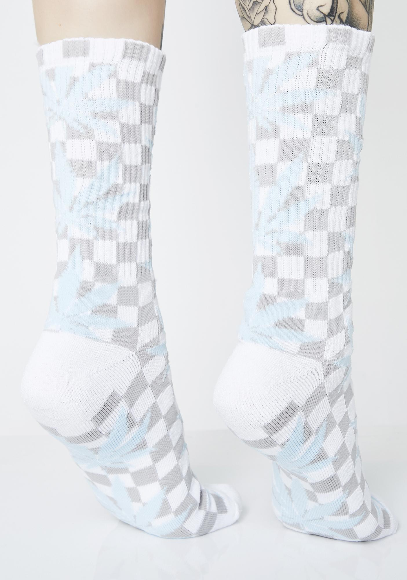 HUF Checkered Plantlife Socks