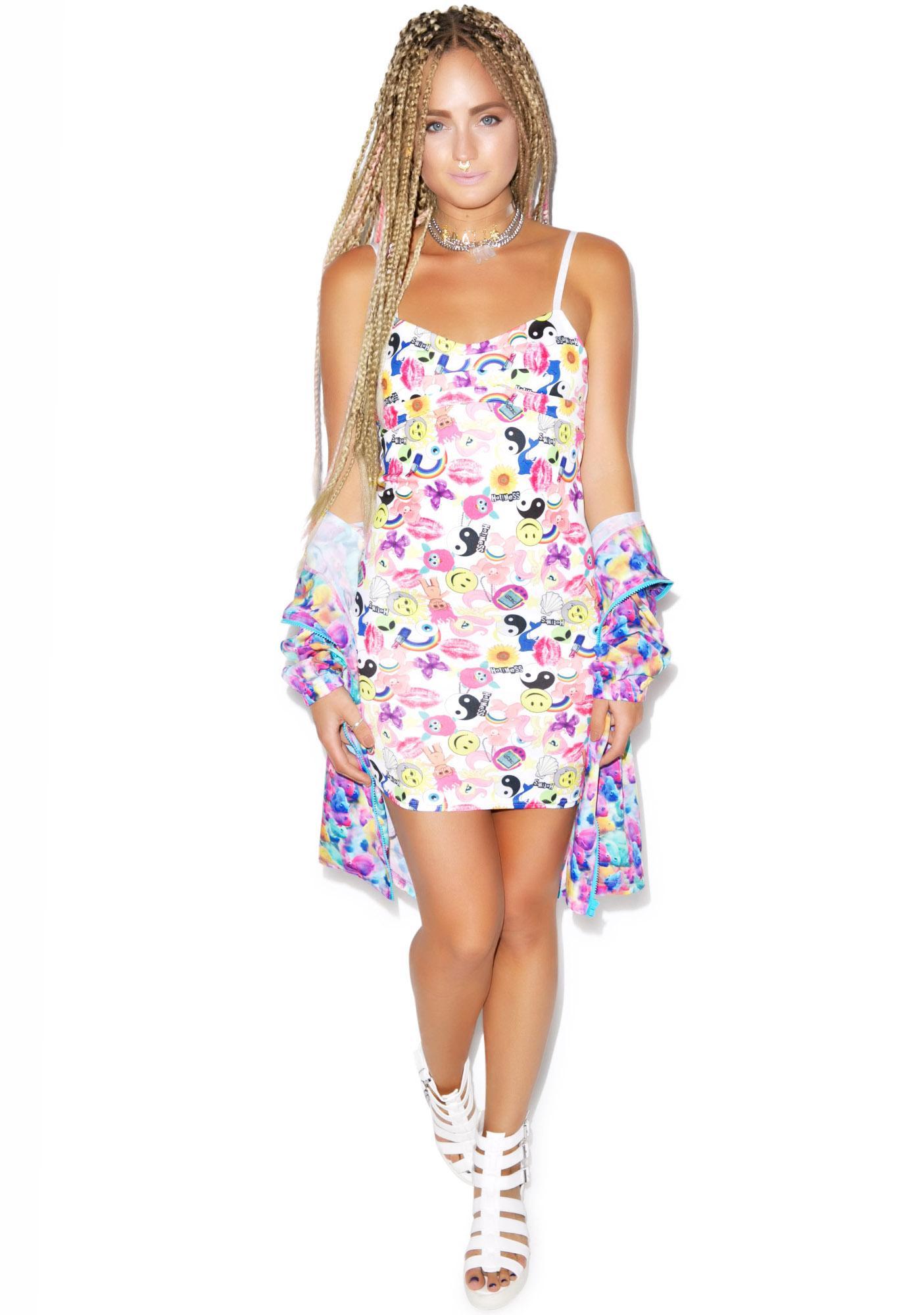 Hot!MeSS Toyshop Bralette Back Mini Dress