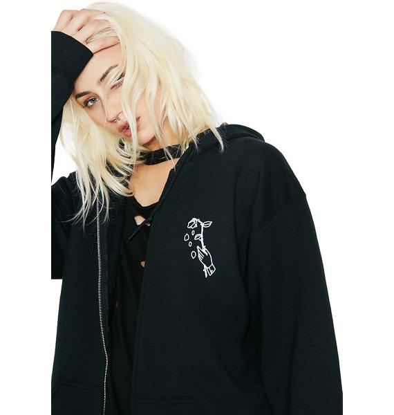 Petals and Peacocks Hopeless Romance Hoodie