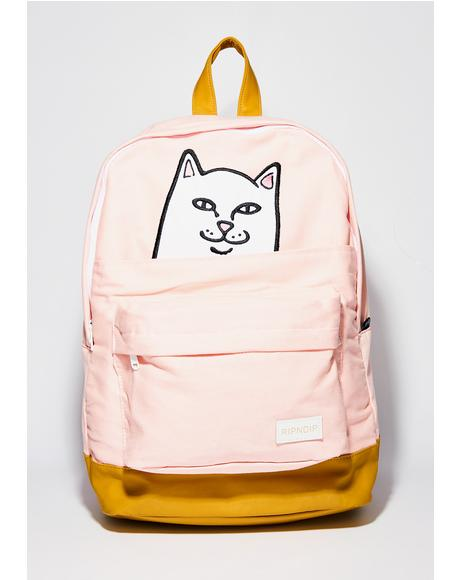 Pink Lord Nermal Backpack