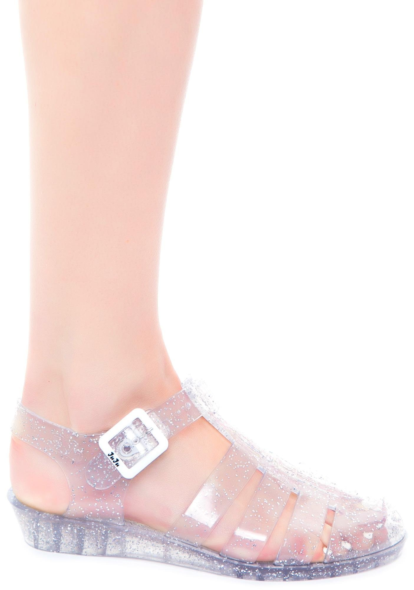 93cd856f1ed6 Juju Shoes Tinkerbelle Jelly Sandal